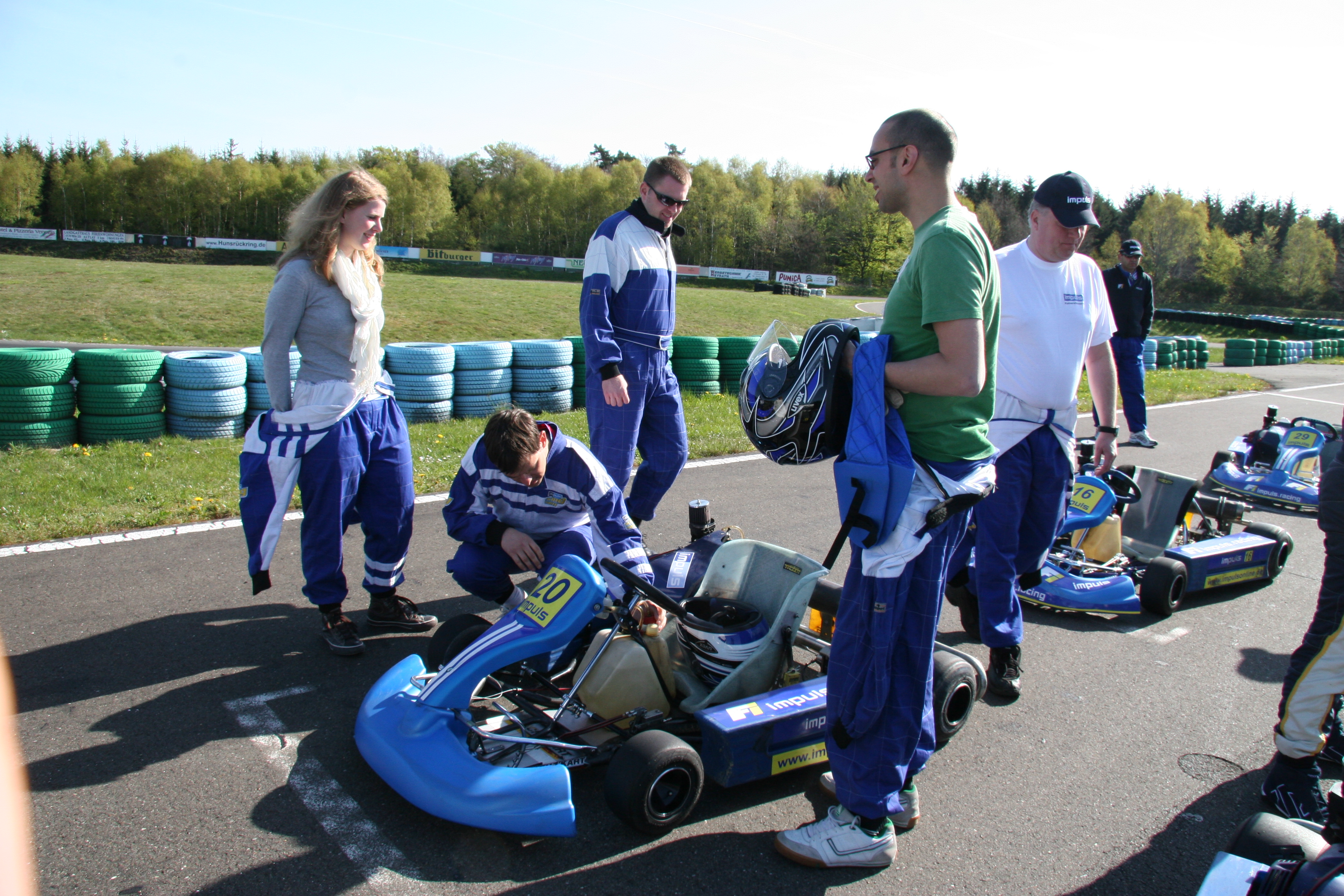 fort erie race track gokarts
