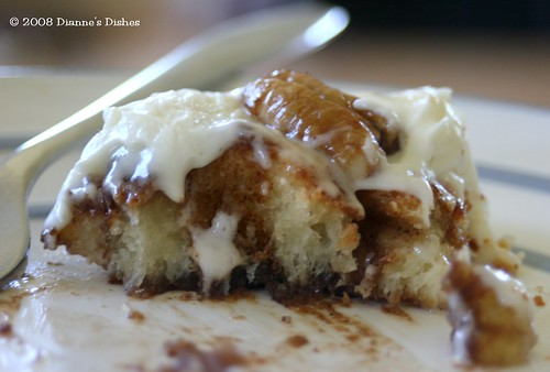 Pecan Honey Sticky Buns: The Inside Goodness