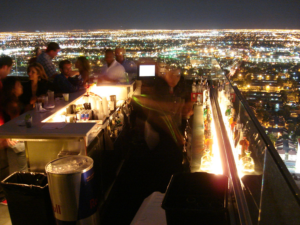 Ghost Bar at PALMS Hotel, Las Vegas NV