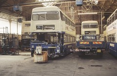 2029, with just one more journey ahead of it ...to the breaker's! (Lady Wulfrun) Tags: west bus 21 accident transport 1988 coventry damaged scrap wrecked fleetline metrobus rta mcw 2029 6441 wmpte bok29v midlnads