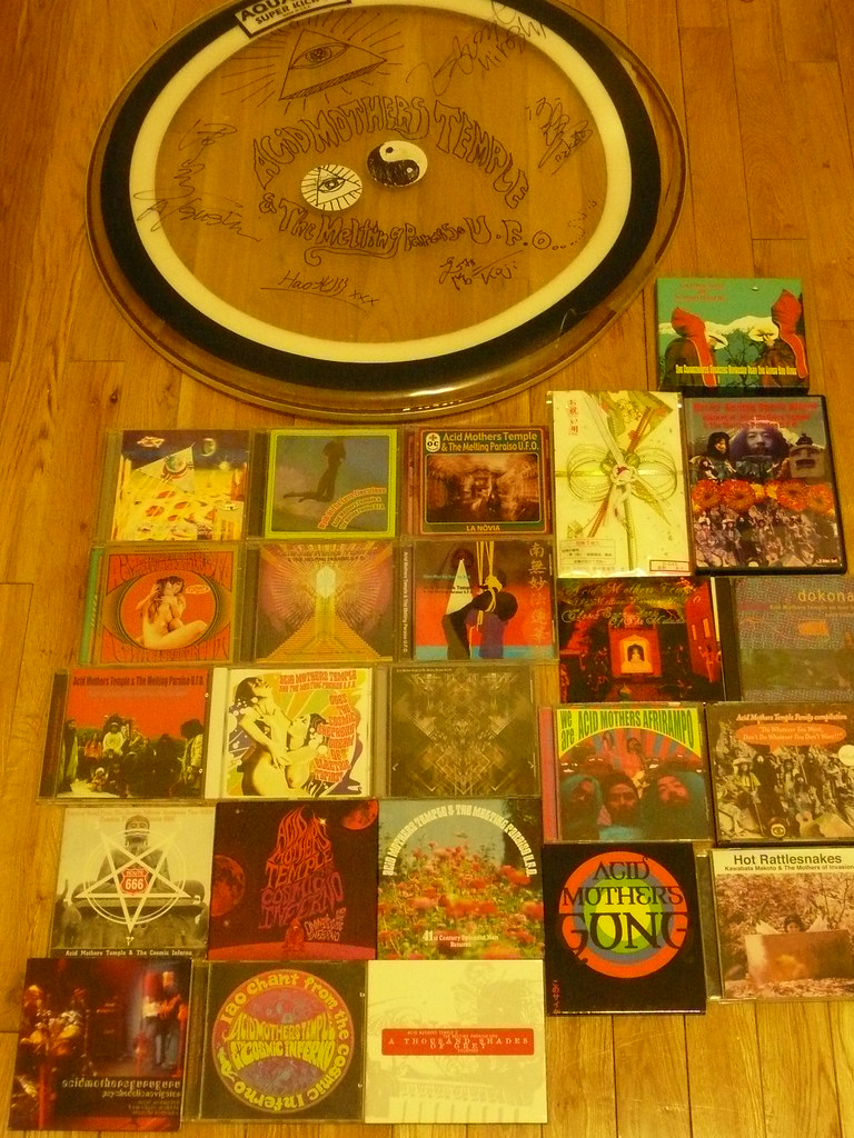 This is my Acid Mothers Temple Collection
