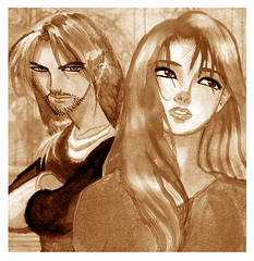 Jaghar_and_Cheldrin_by_Charecua