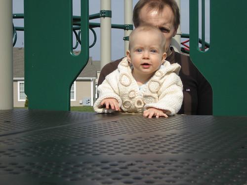 20080419_ZosiaAndDaddyClimbTheSlide