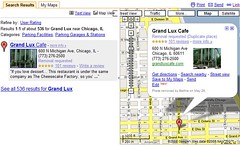 User Review Snippets in Google Maps