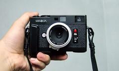Minolta CLE + G-rokkor 28mm/f3.5 (Daa) Tags: analog minoltacle grokkor28mmf35