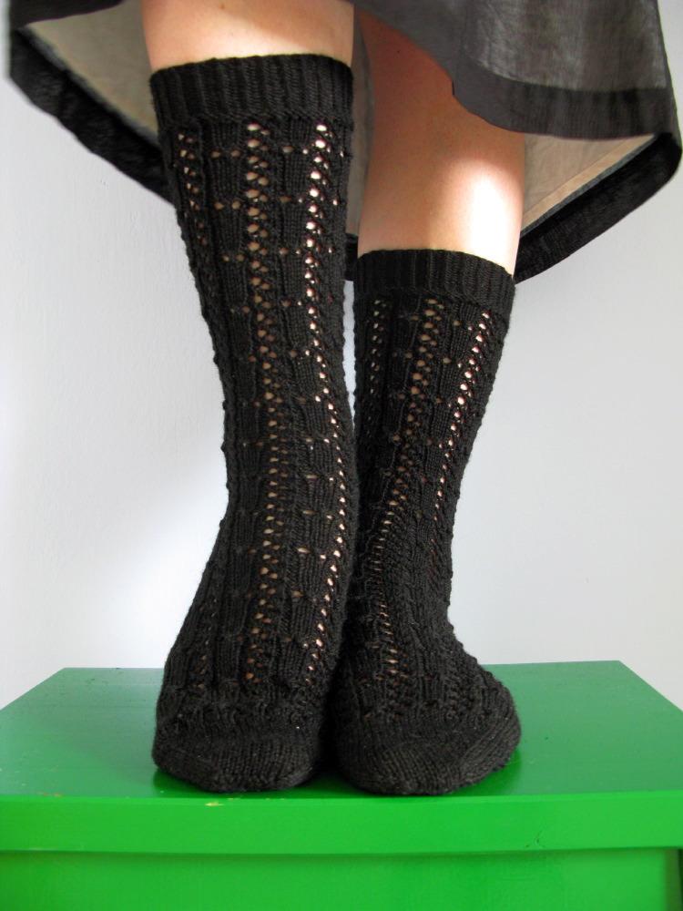 Fancy Silk Sock