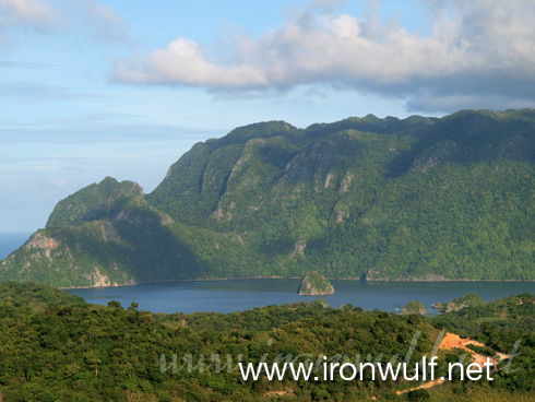 View of Coron Island