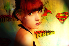 Super Hero wannabe (Sherri DuPree Bemis) Tags: portrait self vintage superman retro 50s eisley sherridupree