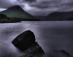 Brooding (M-J Turner) Tags: park england lake mountains water river nationalpark district great lakedistrict hills national valley cumbria fells scafell scafellpike brooding pike irt wastwater gable wast wasdale lakedistrictnationalpark greatgable naturesfinest blueribbonwinner lingmell riverirt yewbarrow specland platinumphoto aplusphoto wasdalevalley onlythebestare rubyphotographer damniwishidtakenthat