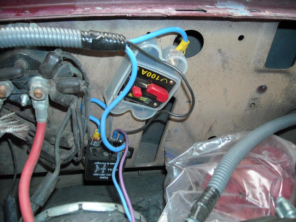 Taurus Electric Fan installed pics. (lots of pics)   Ford Explorer ...
