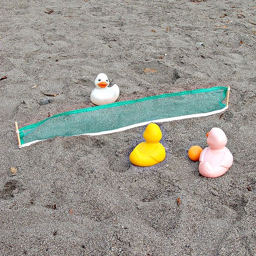 Beach Volleyball Games with the Rubber Duckies (by martian cat)