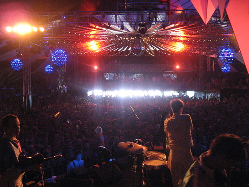 Efterklang at Roskilde Festival 2008