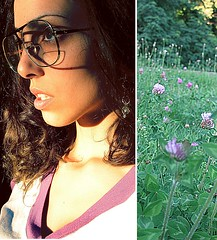 Flower Child (PaytonGuerra) Tags: flower glasses diptych faces selfportraits diptychs