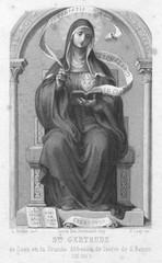 Ste Gertrude de Saxe
