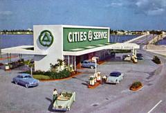 cities_service_1954 (Al Q) Tags: station cities 1954 gas service citgo