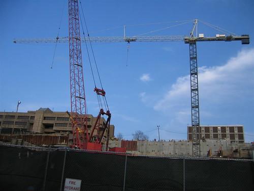 RPI EMPAC cranes