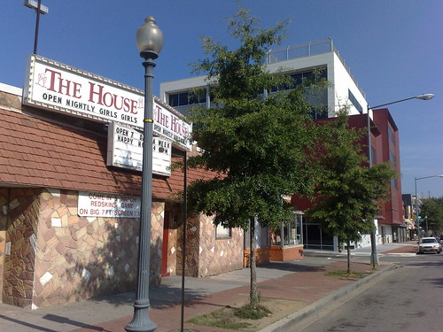 The House Strip Club and E.L. Haynes Public Charter School