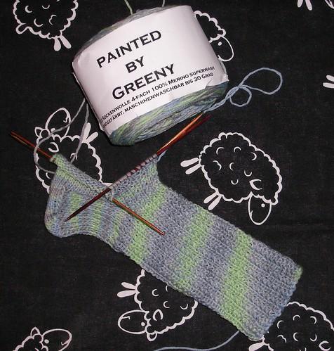 Greeny Socks 001