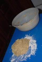 Anadama Bread 8 - Knead