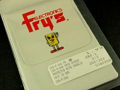 Fry's Electronics Pocket Protector