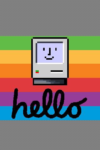 HelloMacBWRainbow System8