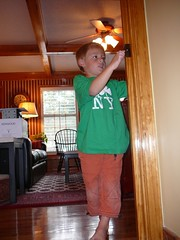 joshy pulls the pocket door closed (alist) Tags: family alist robison alicerobison 66214 ajrobison
