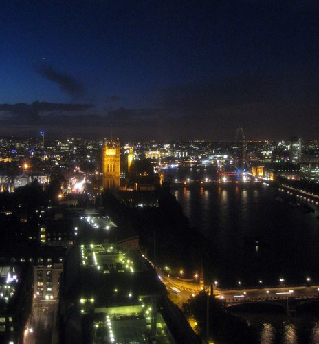 London Skyline from Altitude 7 - Dell Latitude Launch