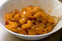 Macerated Apricots