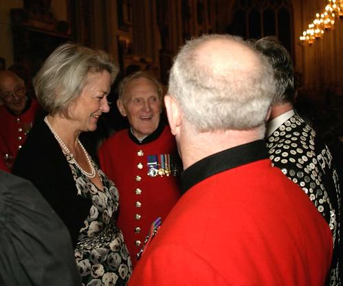 Kate Adie meets Chelsea Pensioners