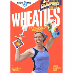 Next Olympic event?   232/366 (YetAnotherLisa) Tags: selfportrait me self canon cleaners housework canon5d 365 wheaties breakfastofchampions 366 cerealbox cleaing fgr project3662008 howcoolwoulditbetoreallybeonthisbox