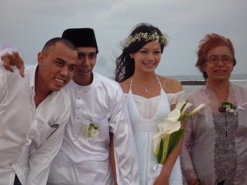 Gambar Majlis Kahwin Melissa Maureen Rizal Dan Malique Too Phat Di