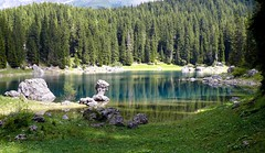Karersee - Lago di Carezza (madbesl) Tags: 1001nights soe sdtirol altoadige southtyrol cubism lagodicare
