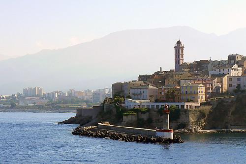 Corsica : arrival in Bastia