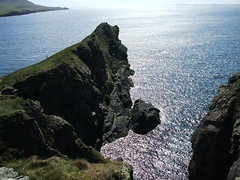 Knab Cliffs (Queenbie) Tags: cliff coast shetland lerwick knab