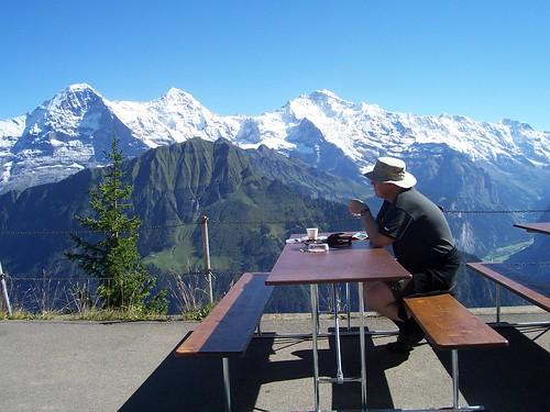 Taking tea at 1967m above sea level