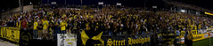 Nordecke Pano (studio79) Tags: columbus ohio people usa 20d net sports field canon football goal uniform stadium soccer banner revs newengland flags ne fans players futbol cheering therevolution mls thecrew columbuscrew majorleaguesoccer blackandgold newenglandrevolution crewstadium therevs studio79