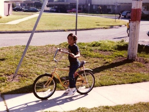 Me on my Huffy Sundance in 1980
