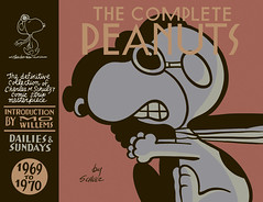 The Complete Peanuts 1969-1970 Vol 10 by Charles M. Schulz - front cover