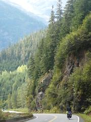 Cassiar Highway camino a Stewart