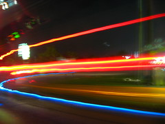 keep? (korndodger177) Tags: longexposure blue autumn light red fall cars car lights long exposure picture