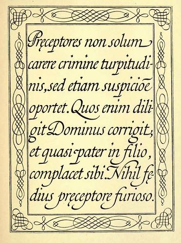 43- Escritura española de la obra Nueva Arte de Escribir de Diaz Morante 1789