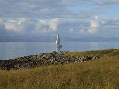 Lochranza sailing