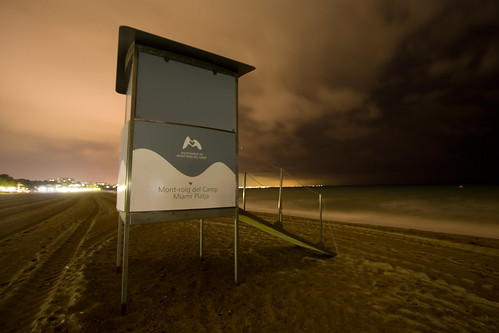 Baywatch in der Nacht