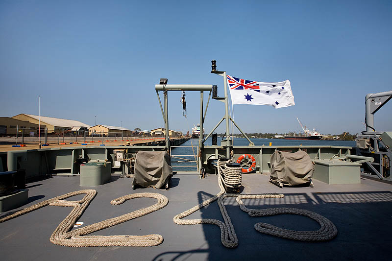 A245 aka HMAS Leeuwin