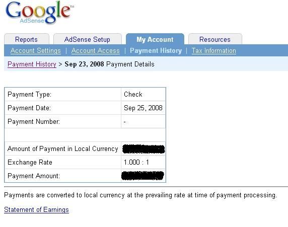 India / US Exchange Rate Mistake Google AdSense