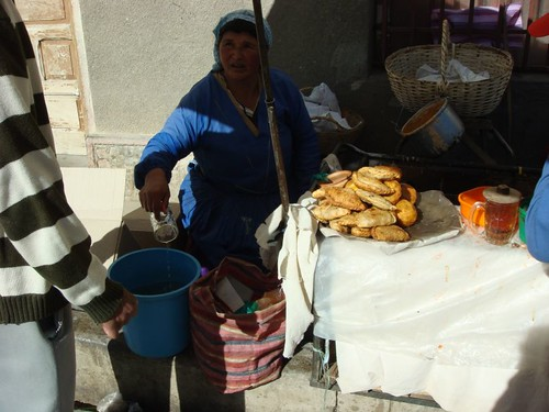 The Empanada Woman, Villazon, Bolivia.