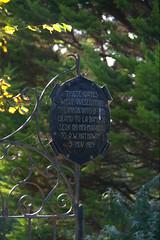 Cob Webs (Oisin Mulvihill) Tags: gardens evening gate pentax web sark channelislands entrace autmun k20d pentaxk20d laseigneurie