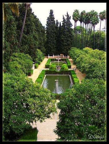 Reales Alcázares (Jardín de los Poetas)