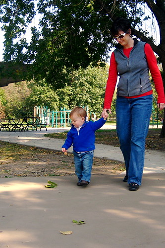 walkin' in the park