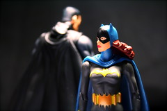 Batman and Batgirl (chanchan222) Tags: comics toys dc secret bruce wayne vinyl files batman batgirl figures pvc unmasked danchan danielchan chanchan222 wwwchanofamericacom chanwaibun httplifeofplasticcom